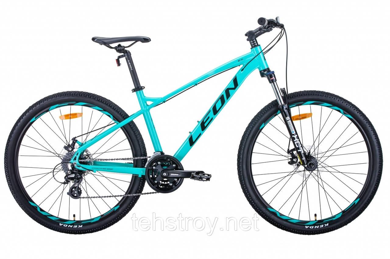 "Велосипед 27.5"" Leon XC-90 2020 (бирюзовый)"