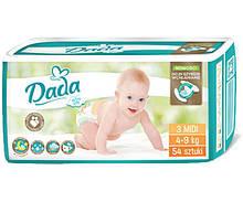 Памперсы подгузники Дада Extra Soft Dada 3 MIDI 54 шт. 4-9 кг
