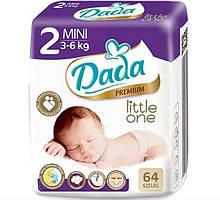 Подгузники DADA 2 Little one MINI (3-6 кг) 64 шт
