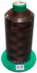 Нить Титан №20 2000 м. Польша цвет (2535) коричневий.