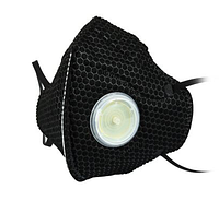 Респіратор KN95 PM2.5 B FFP2 6 шарів, чорний