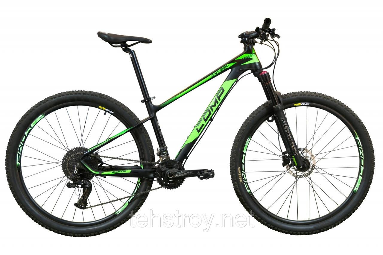 """Велосипед 29"""" COMP Harvard 2020 (черно-зеленый (м))"""