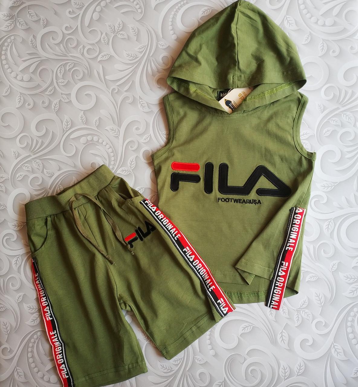 Детский летний костюм Fila, расцветки
