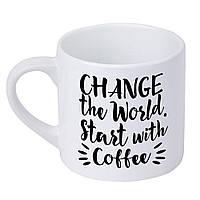 Кружка маленькая Change the World 170 мл (KRD_20M053)