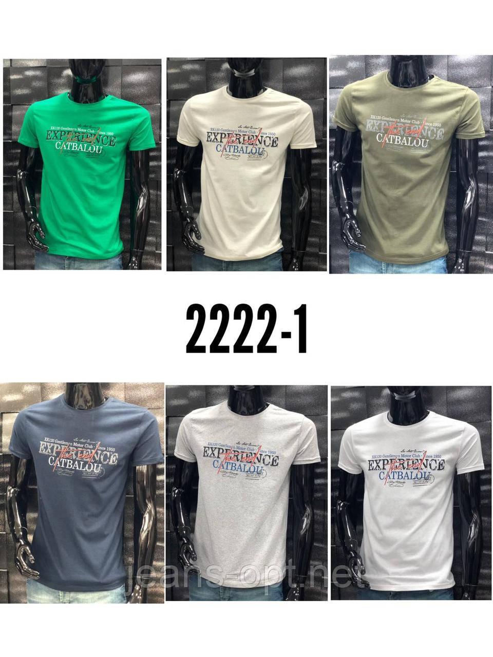 Мужские футболки  2222-1