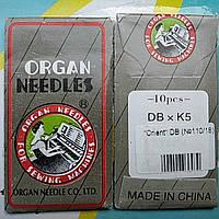 Набор игл для вышивальных швейных машин ORGAN  №110/18 DBxK5