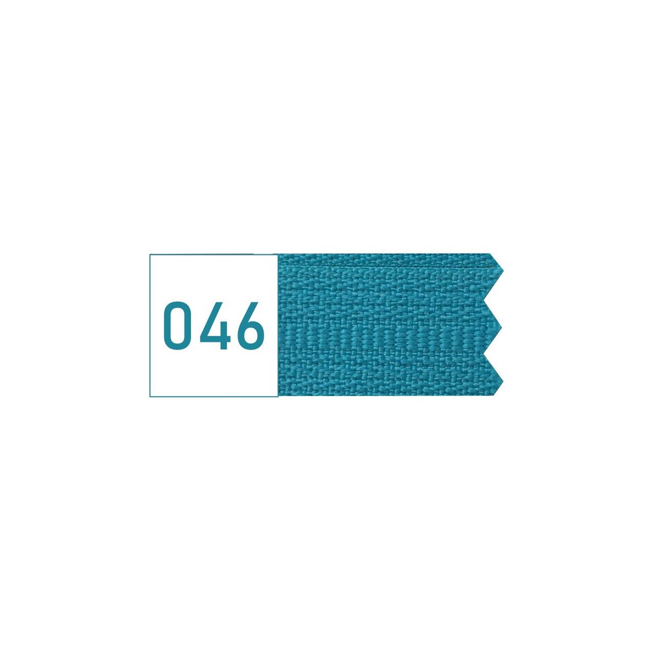 Молния спиральная №5 рулонная S-046 голубой яркий (рул 200м) ZIP