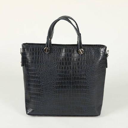 Женская сумка с тиснением «крокодил» М61-11, фото 2