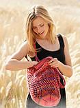 Перевод описания вязания сумки-шоппера «Sunset», фото 2
