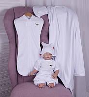 Набор одежды для новорожденных Лето белый