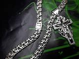 Серебряная цепочка и крестик, фото 5