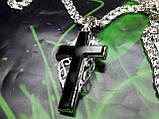 Серебряная цепочка и крестик, фото 8