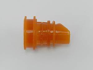 Патрубок воздушного фильтра Honda Dio AF 27/28/Fit (силикон оранжевый)