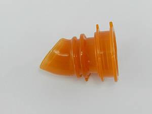Патрубок воздушного фильтра Honda Dio AF 34/35 (силикон оранжевый)