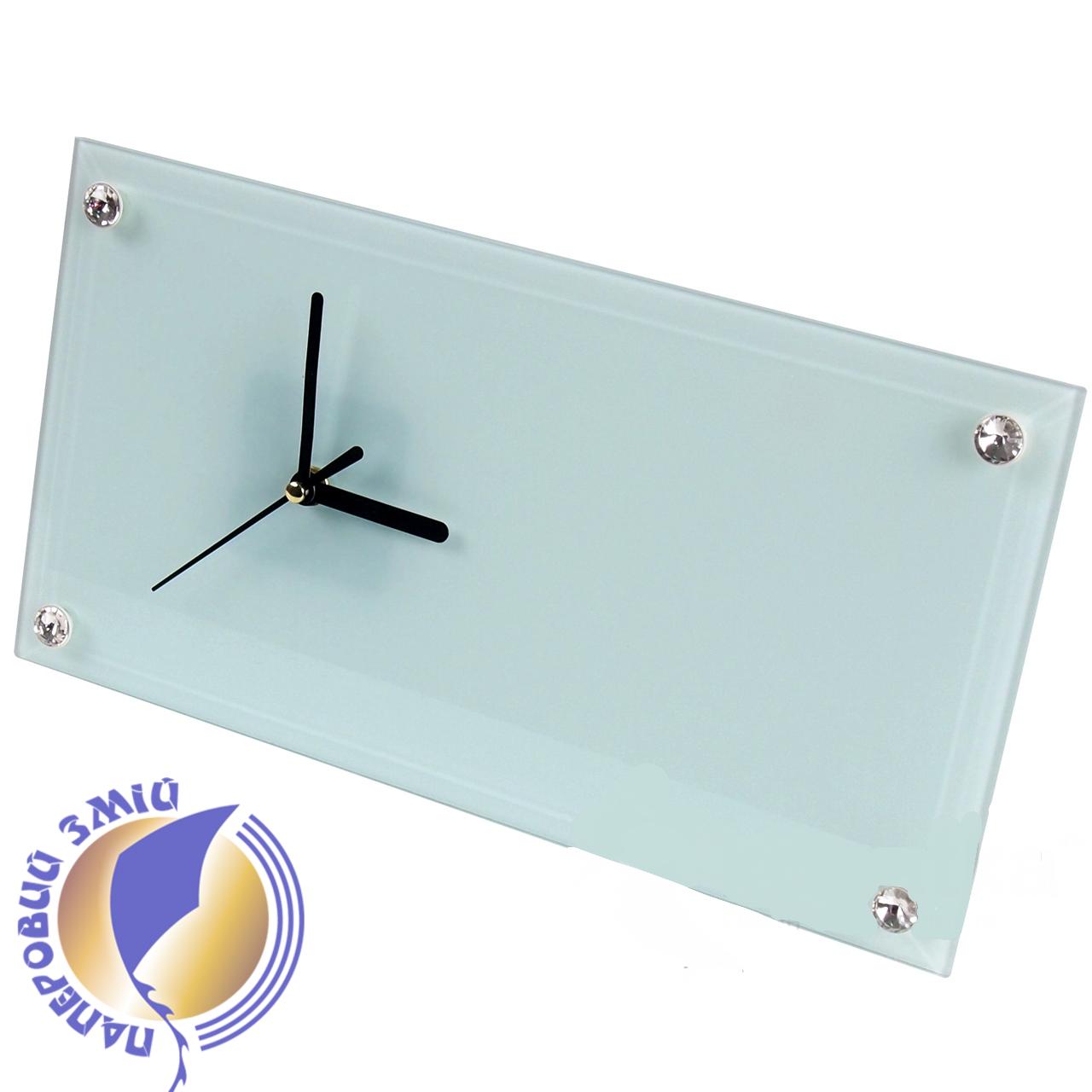 Часы стеклянные прямоугольные для сублимации