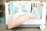 Постельное белье в кроватку Kitty (Набор в кроватку)