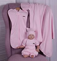 Набор одежды для новорожденных Лето розовый, фото 1