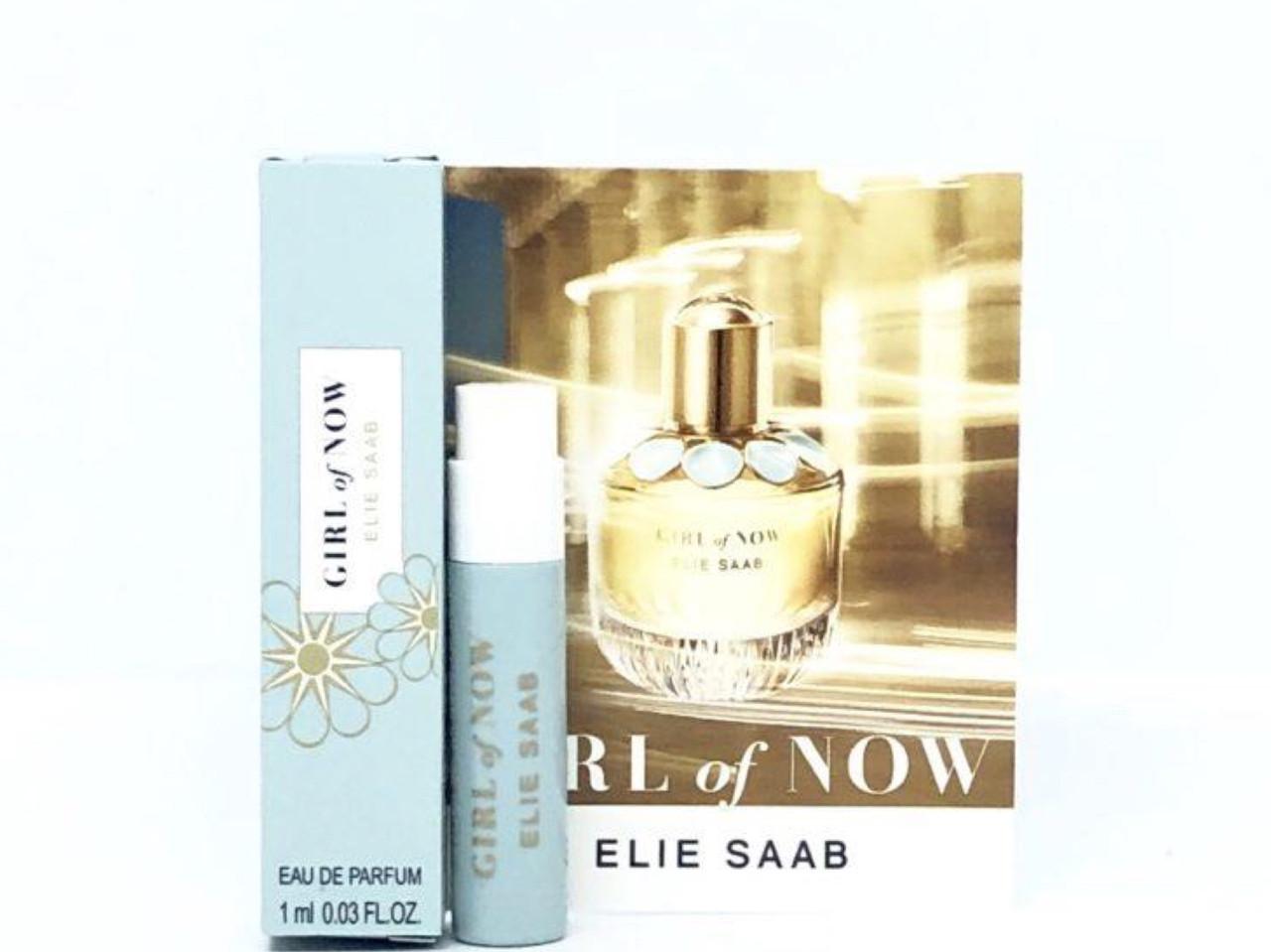 ПРОБНИК 1 мл элитная парфюмированая вода  ELIE SAAB Girl Of Now оригинал, восточный цветочный аромат