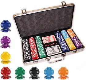 """Набор неценовых фишек для игры в покер """"Style M 300"""""""