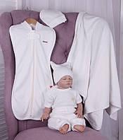 Набор одежды для новорожденных Лето айвори