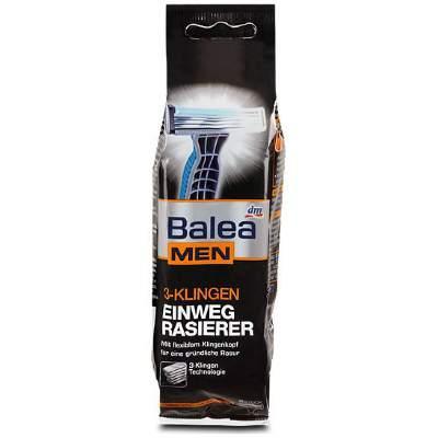 Balea Станки для бритья 8шт 3 лезвия мужские Германия