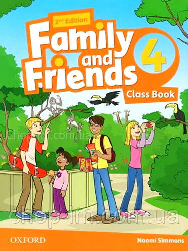 Family and Friends 2nd (second) Edition 4 Class Book (учебник/підручник 2-е изд)