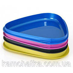 Набор тарелок Light My Fire StackPlate Stack Plate Blackpearl/Petroleum/Pinkmetal