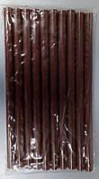 Стержни клеевые 10 шт пачка (цена за пачку) 11x200 мм коричневые LTL14026, фото 1