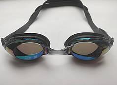 Очки для плавания, бассейна Черный
