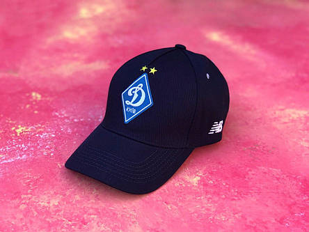 Бейсболка с логотипом ФК Динамо Киев темно-синяя, фото 2