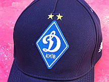 Бейсболка с логотипом ФК Динамо Киев темно-синяя, фото 3