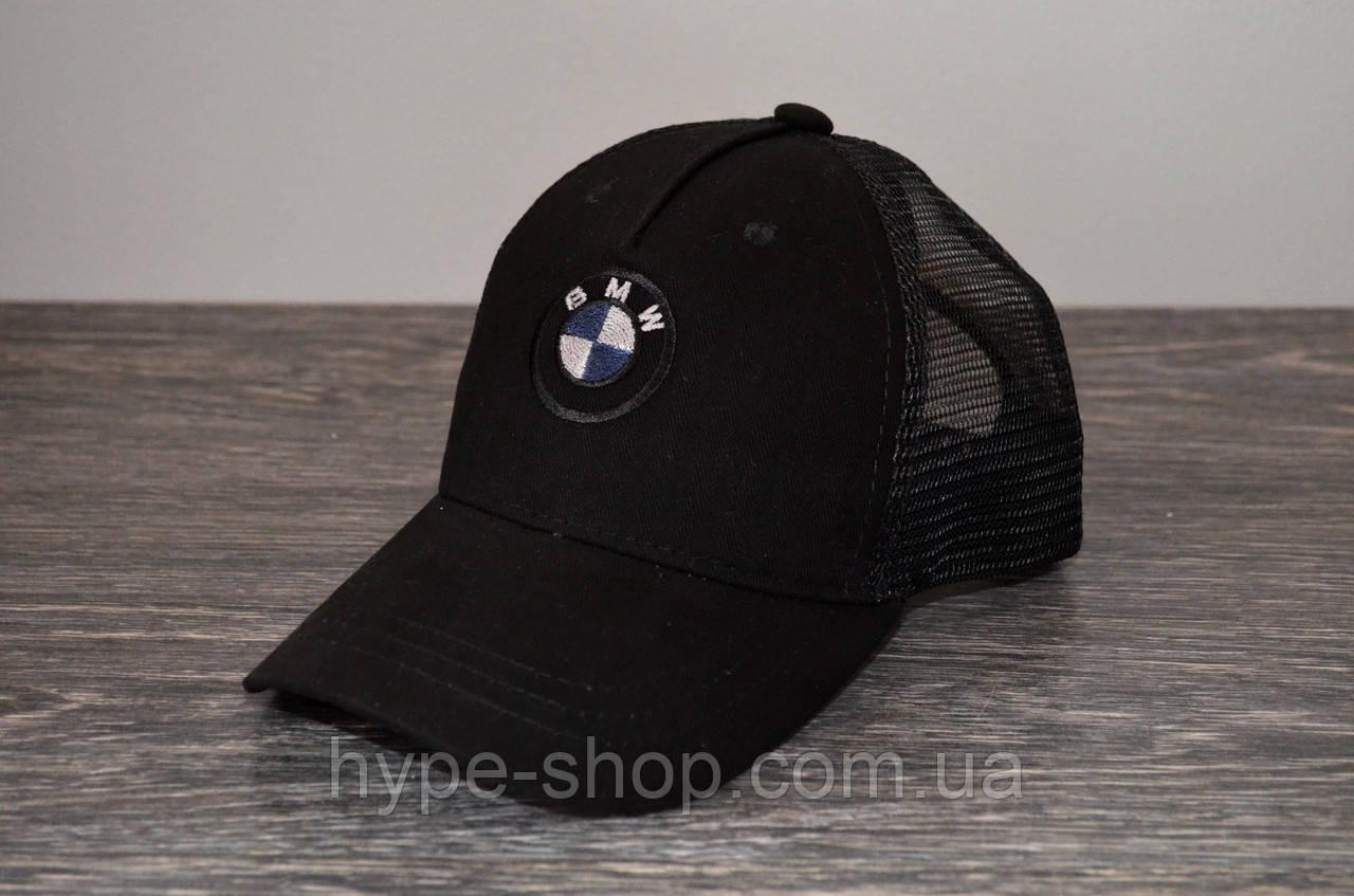Кепка тракер BMW чорна | Відмінний вибір