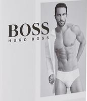 Мужские трусы брифы классические белые Hugo Boss . XXL.