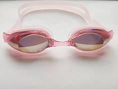 Очки для плавания, бассейна Розовый