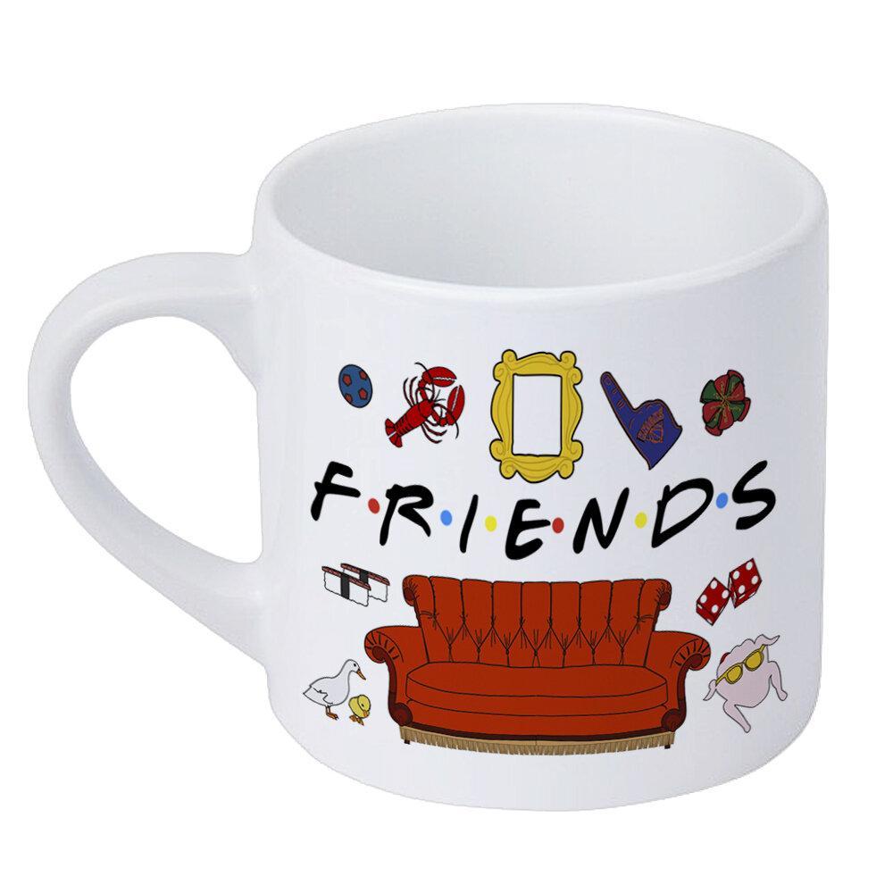 Кружка маленькая Friends 170 мл (KRD_20M041)
