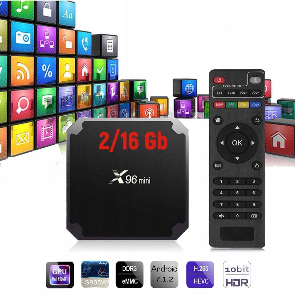 Smart TV приставка X96 Mini 2/16GB Android