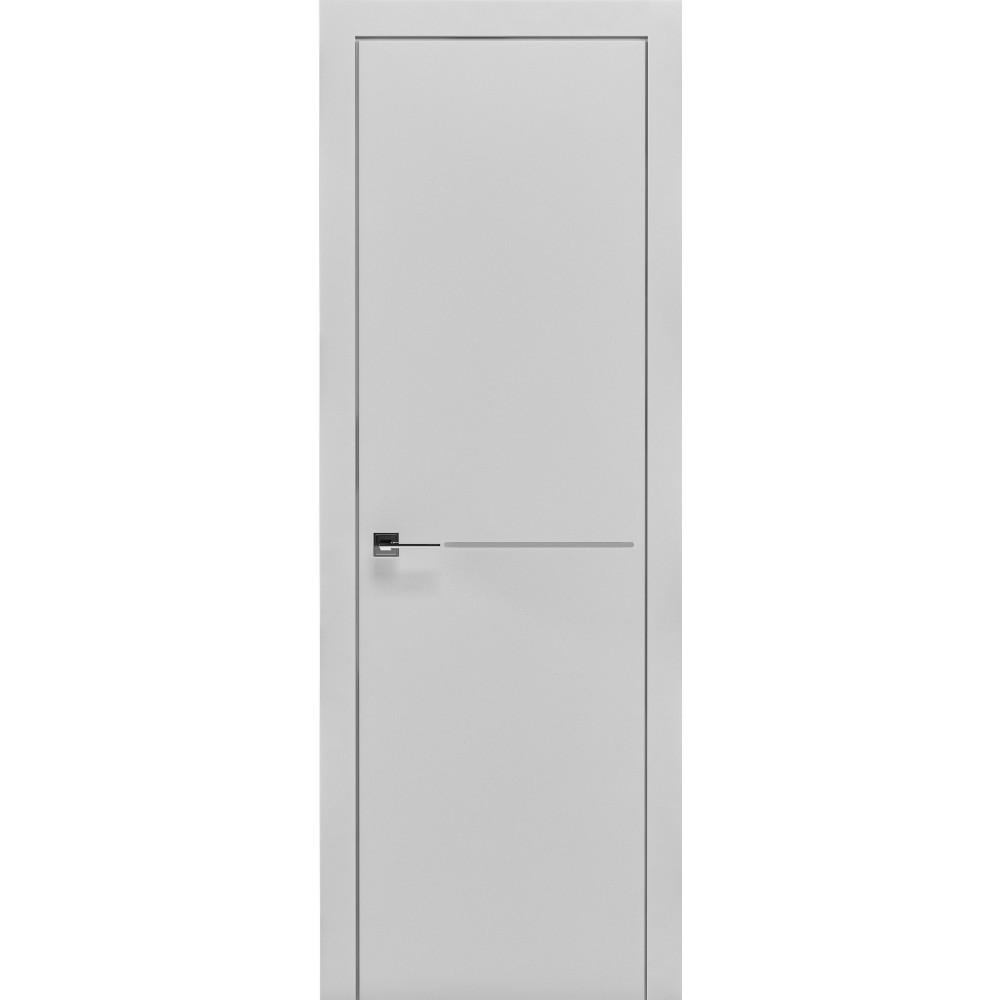 Двери PRIMA 1G - полотно, крашенные белый мат, серия CORTES