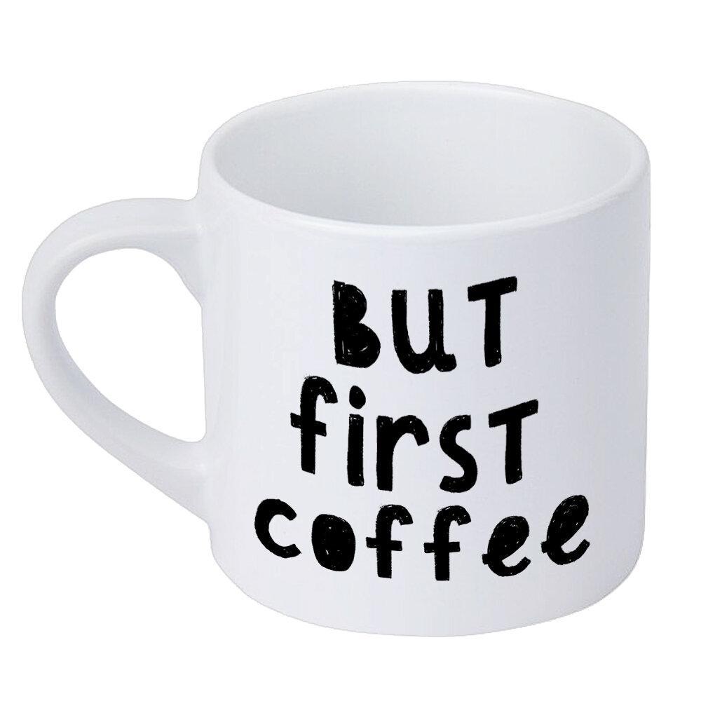 Кружка для кофе But first coffee 170 мл (KRD_20M039)