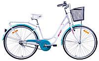 Велосипед Aist Avenue 26 1.0 Женский Бело-голубой