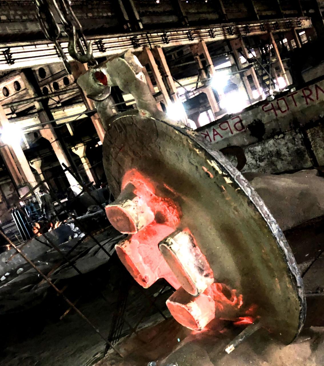 Крупногабаритное литье, сталь, чугун под заказ