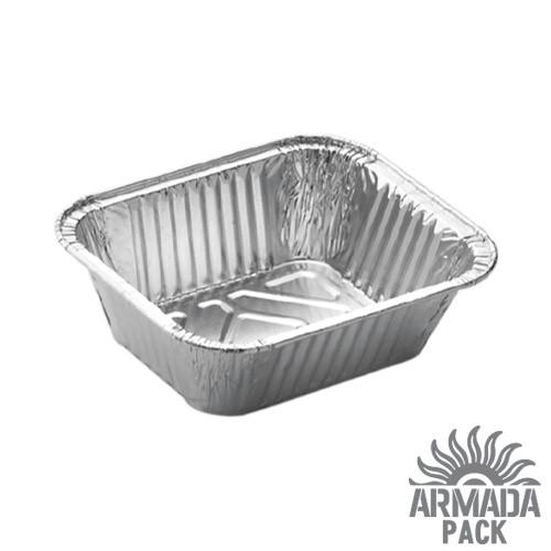 Контейнер из пищевой алюминиевой фольги R1 - 100 шт.