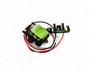 Резистор регулятора скорости вращения вентилятора на Renault Trafic II 2001->2014 — Valeo - VAL509899