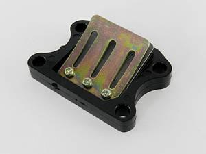 Лепестковый клапан Honda Dio AF-18/25/27 /28/FIT/Tact AF-24/30/ 31/Lead AF-20/05 SPI (тайвань)