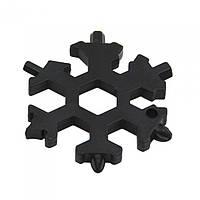 18 в 1 Мультитул отвертка в виде снежинки snowflake wrench tool