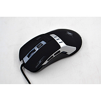 Игровая компьютерная мышь проводная Keywin X5 Чёрная