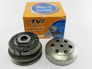 Вариатор задний (сцепление) Honda Dio/ZX 34/35/Lead/4т GY6-50/80сс 139QMB (в сборе с чашкой) TVR