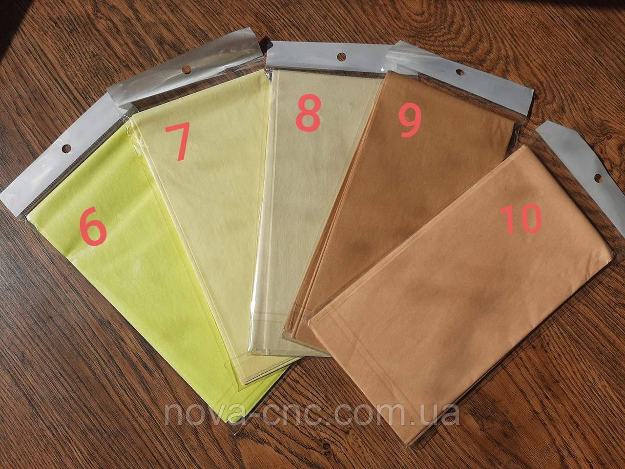 Бумага тишъю (папиросная) 50х50 см упаковка 10 листов