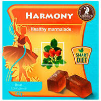Мармелад с шиповником SHOUDE 192г на пектине,для здорового питания,натуральный состав
