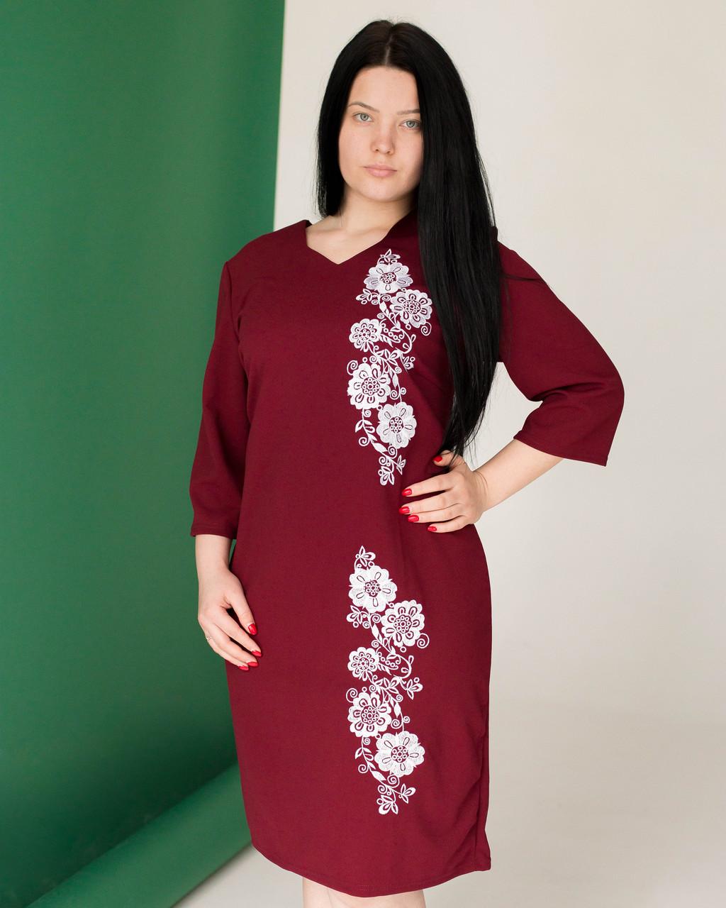 Женское платье вышиванка - Ирина