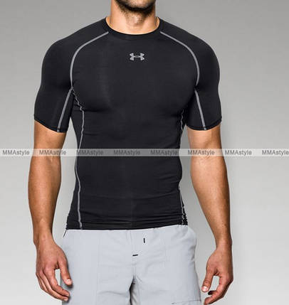 Компрессионная футболка HeatGear® Armour Short Sleeve Compression Shirt, фото 2